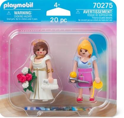Playmobil 70275 - Bride and dressmaker - Back