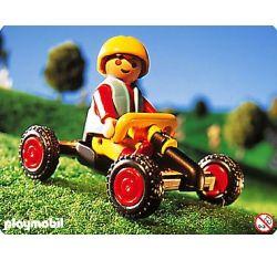 Playmobil - 4510-usa - Boy with kart