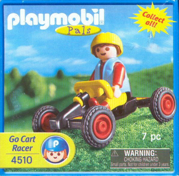 Playmobil 4510-usa - Boy with kart - Box