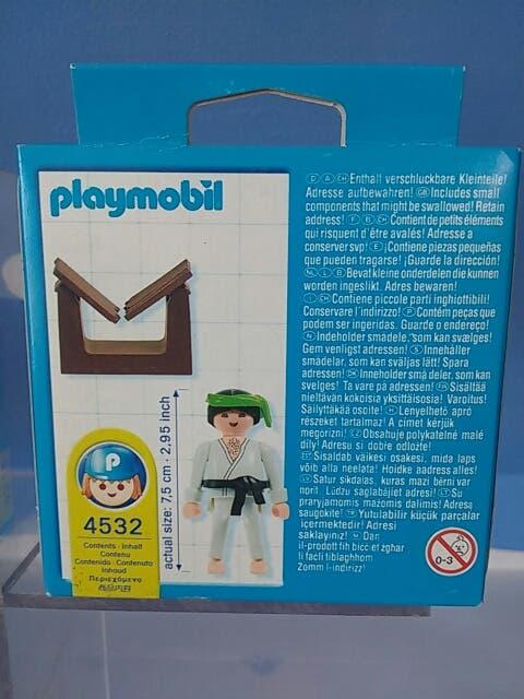 Playmobil 4532-usa - Karateka - Back