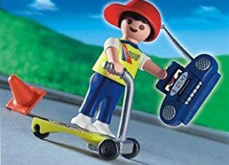 Playmobil - 4636-usa - Skateboard kid