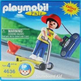 Playmobil 4636-usa - Skateboard kid - Box