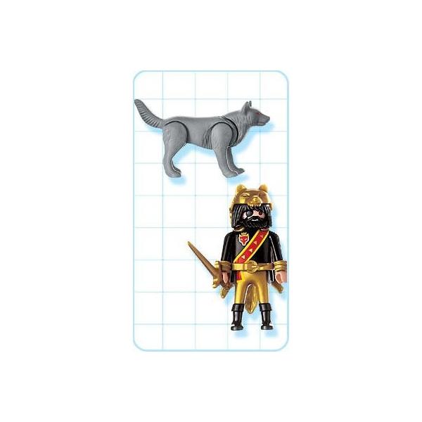 Playmobil 4644-usa - Dragon Warrior - Back