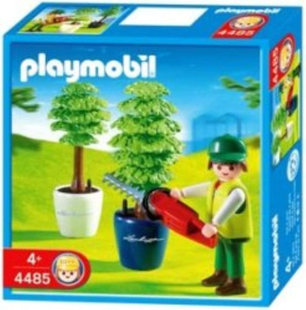 Playmobil 4485 - Gardener with Hedge Trimmer - Box