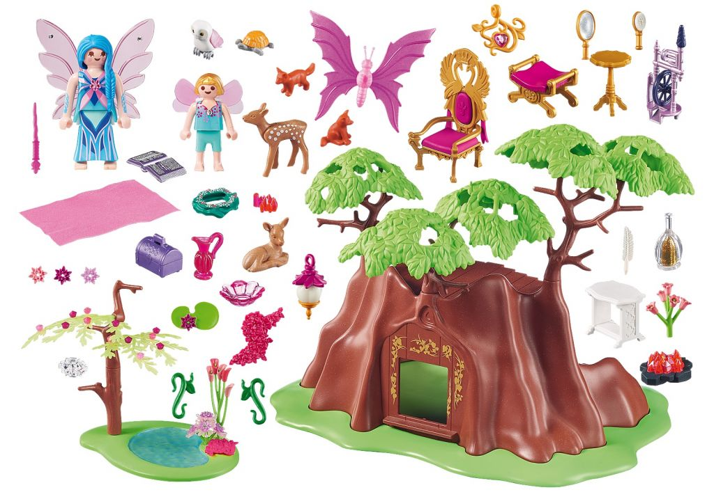 Playmobil 70001 - Forest Fairy House - Back