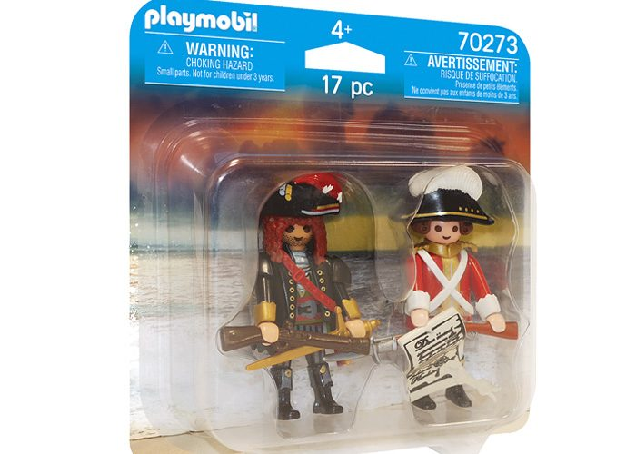 Playmobil 70273-ger - Duo Pack Pirate and Soldier - Box