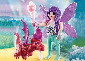 Playmobil - 70299 - Fairy with Dragon baby