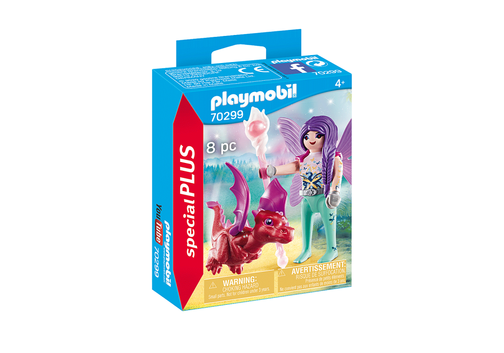 Playmobil 70299 - Fairy with Dragon baby - Box