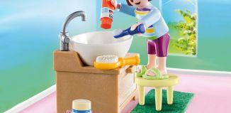 Playmobil - 70301 - Girl toothbrushing