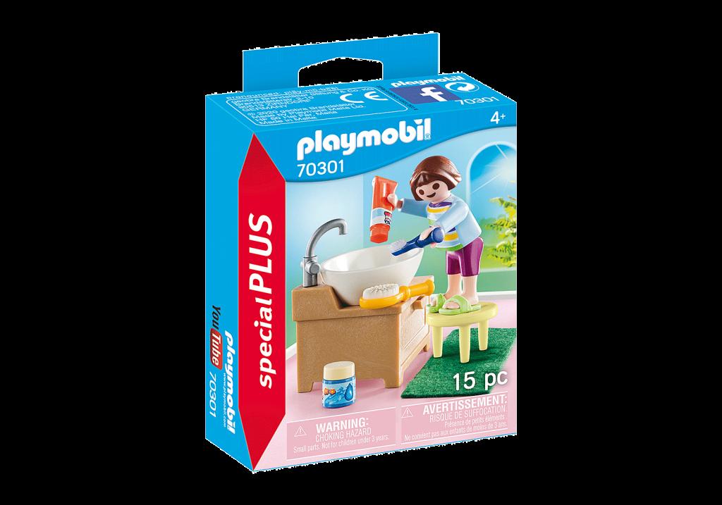 Playmobil 70301 - Girl toothbrushing - Box