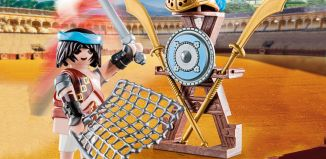 Playmobil - 70302 - Gladiator with weapon stand