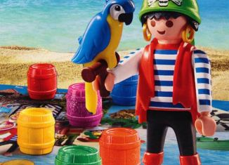 Playmobil - 70373 - Pirat Rico Brettspiel