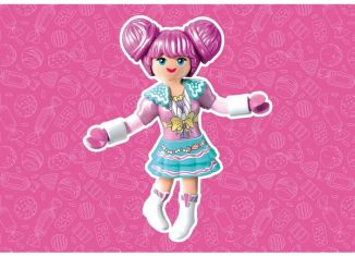 Playmobil - 70385 - ROSALEE CANDY WORLD
