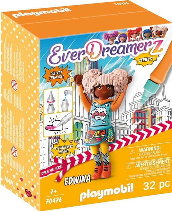 Playmobil 70476 - Edwina - Comic World - Box