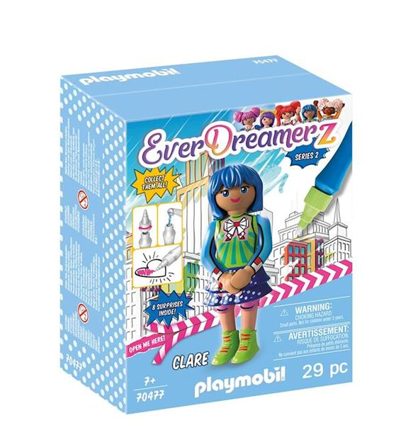 Playmobil 70477 - Clare - Box