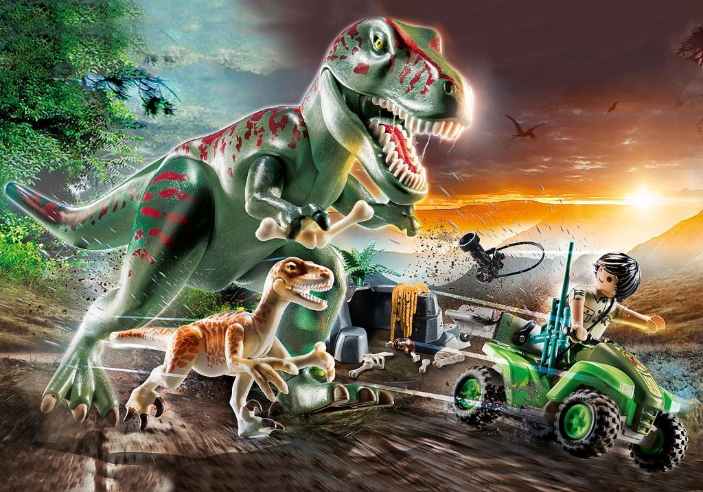 Playmobil 70632 T-Rex Attack Bargain Special Promotional Price Normal RRP £39.99