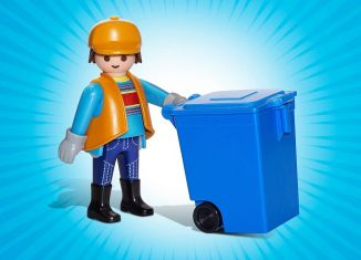 Playmobil - 70719-ger - Cleaning operator
