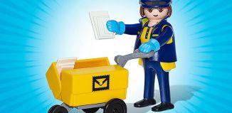 Playmobil - 70720-ger - Postwoman