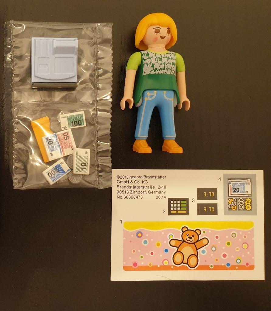 Playmobil 70685-ger - Cashier - Back