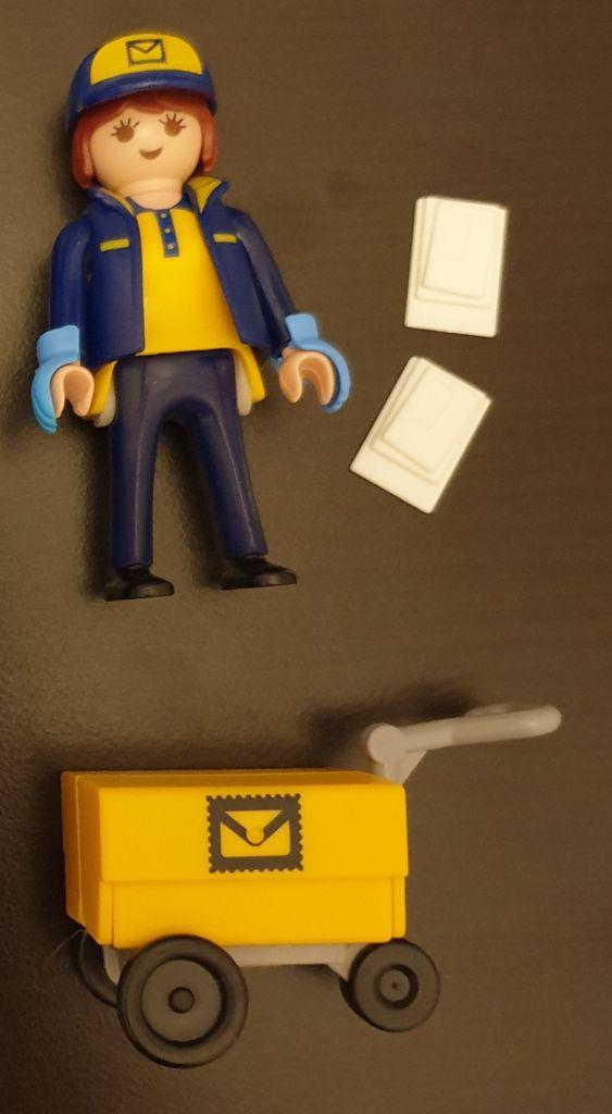 Playmobil 70720-ger - Postwoman - Back