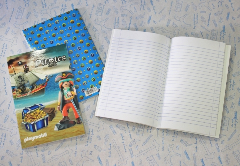 Playmobil 150560 - Pirate notebook - Back