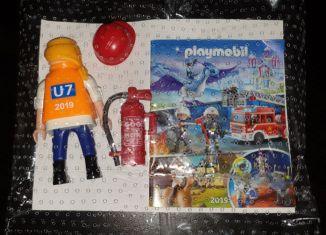 Playmobil - 0000-ger - Maitenance Employee BVG (U7, 2019)