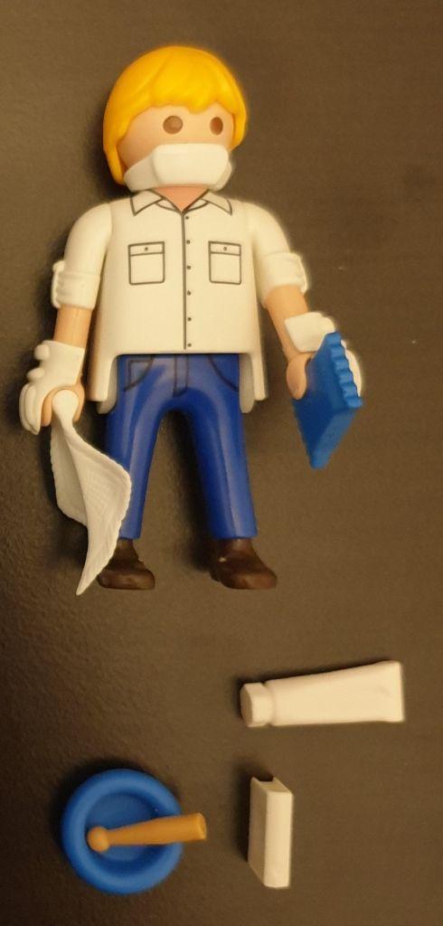 Playmobil 70718-ger - Pharmacist - Back