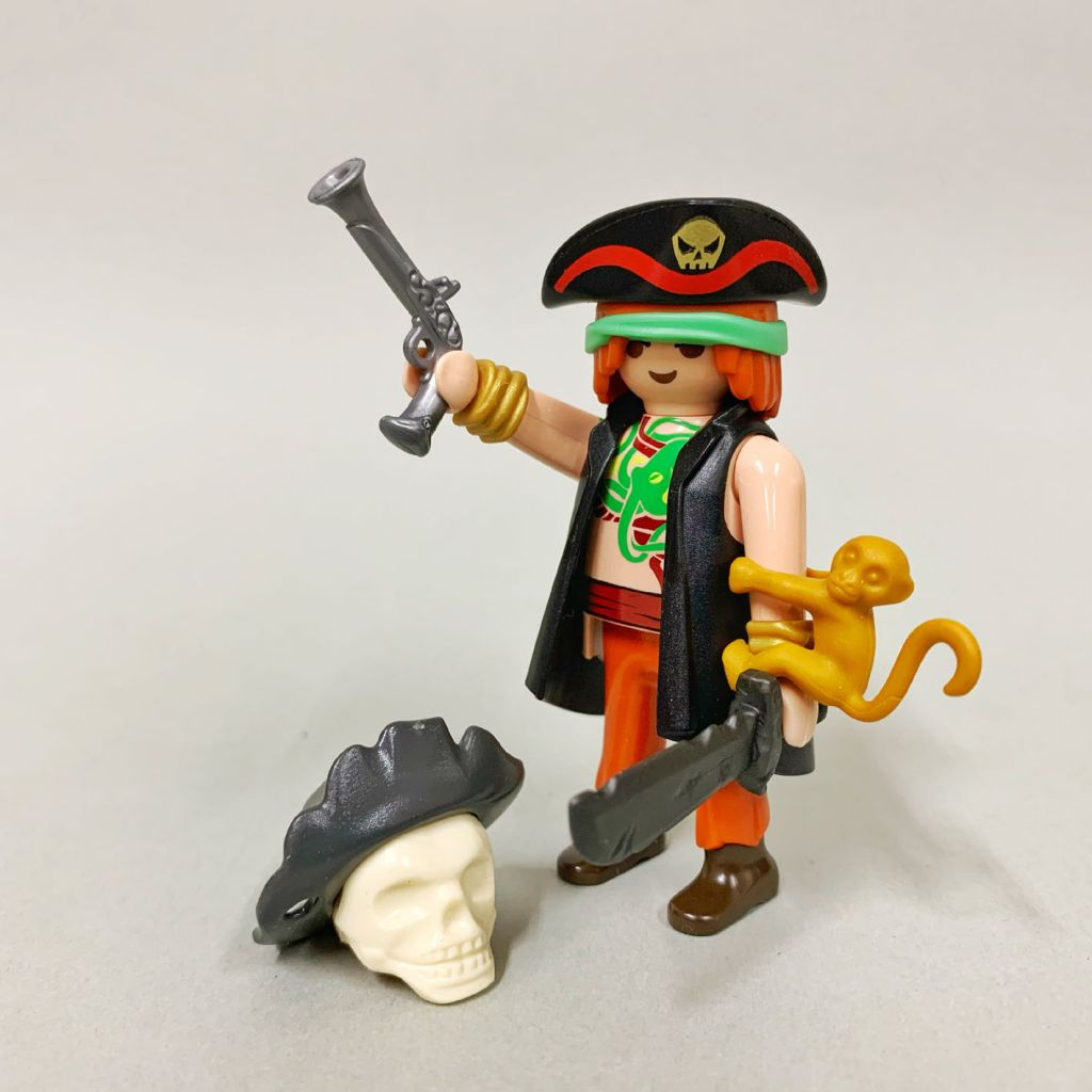 Playmobil 0000-ger - Nüremberg Toy Fair Give-away Pirate - Back