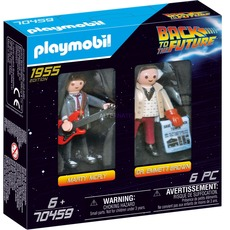 Playmobil 70459 - Back to the Future Marty Mcfly and Dr. Emmett Brown - Box