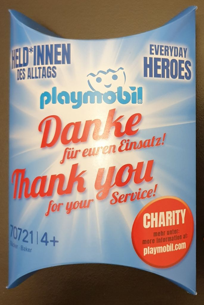 Playmobil 70721-ger - Baker - Box