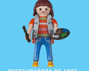 Playmobil - 30792724 - Restorer of art