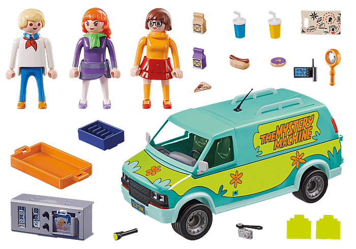 Playmobil 70286 - SCOOBY-DOO! Mystery Machine - Back