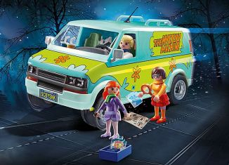 Playmobil - 70286 - SCOOBY-DOO! Mystery Machine