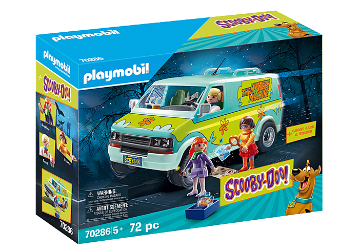 Playmobil 70286 - SCOOBY-DOO! Mystery Machine - Box