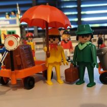 Playmobil - Excited travellers