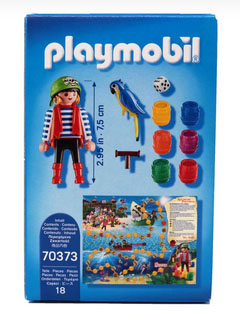 Playmobil 70373 - Pirat Rico Brettspiel - Zurück