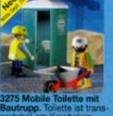 Playmobil - Aseo portatil