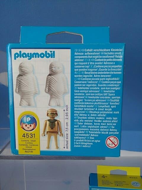 Playmobil 4531-usa - Mummy - Back