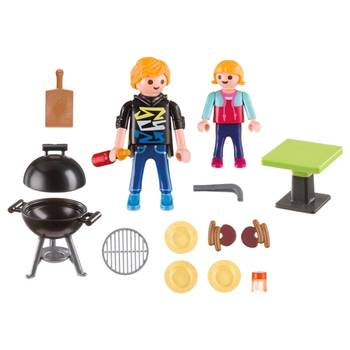 Playmobil 5649 - Barbecue box - Back