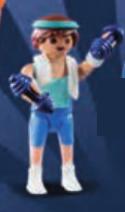 Playmobil - 70369v2 - Sporty guy