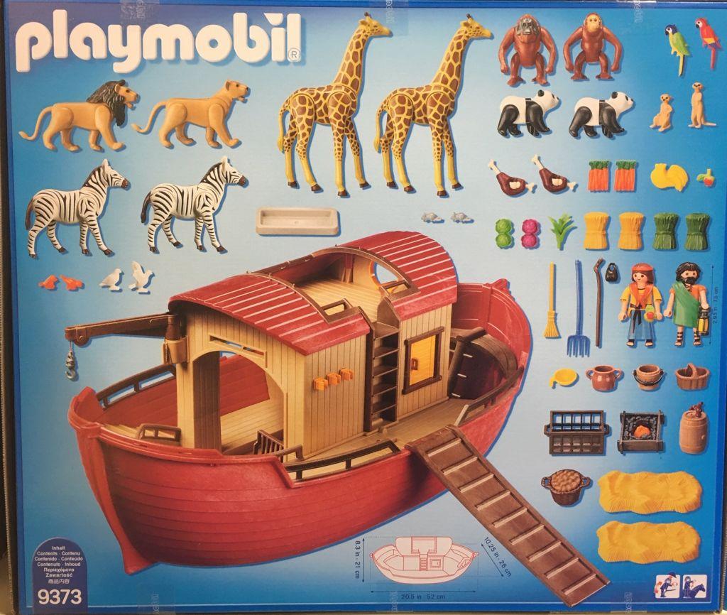 Playmobil 9373 - Noah's Ark - Back