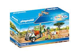 Playmobil 70346 - Veterinarian and his vehicle - Box