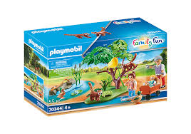 Playmobil 70344 - Red panda with children - Box