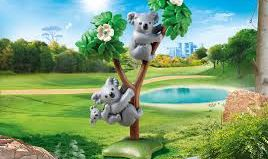 Playmobil - 70352 - Couple of koalas with baby