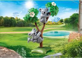 Playmobil - 70352 - Couple of koalas with baby