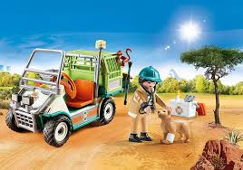 Playmobil - 70346 - Veterinarian and his vehicle