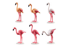 Playmobil 70351 - Group of flamingos - Back