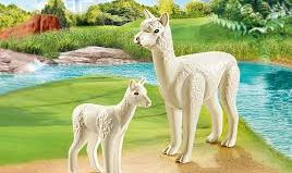 Playmobil - 70350 -  Alpaca and its cub