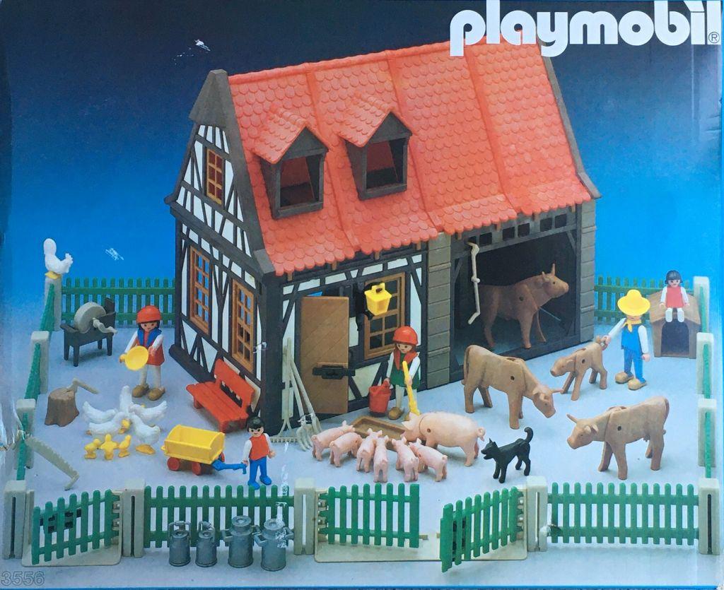 Playmobil 3556 - Barn & Animals - Box