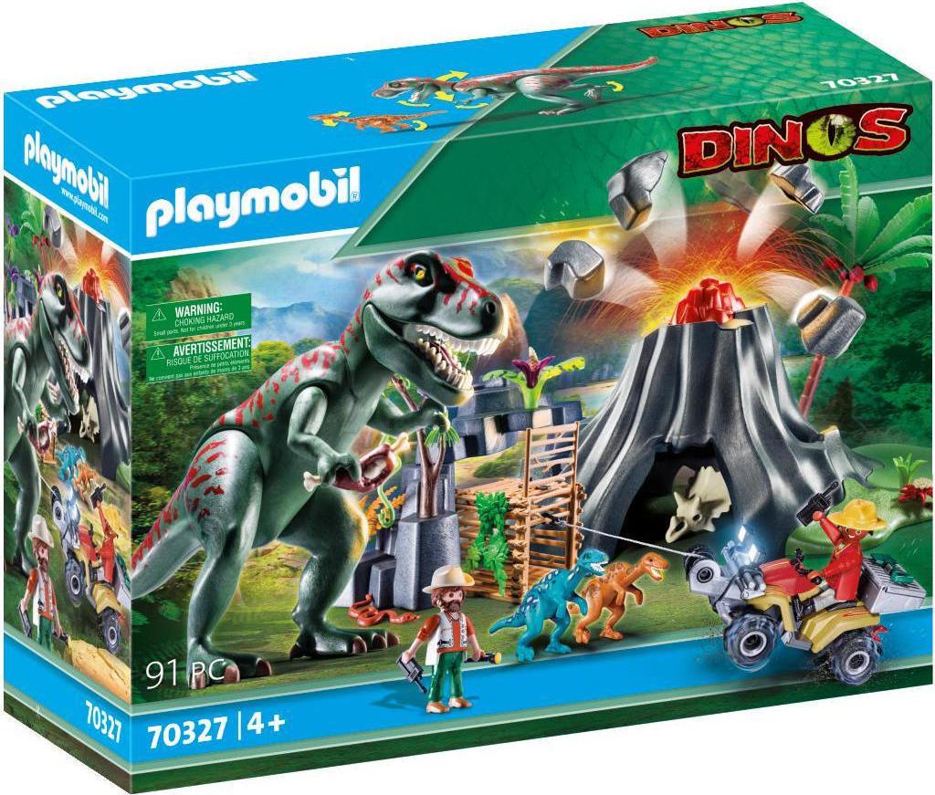 Playmobil 70327-gre - Volcano Erruption - Box